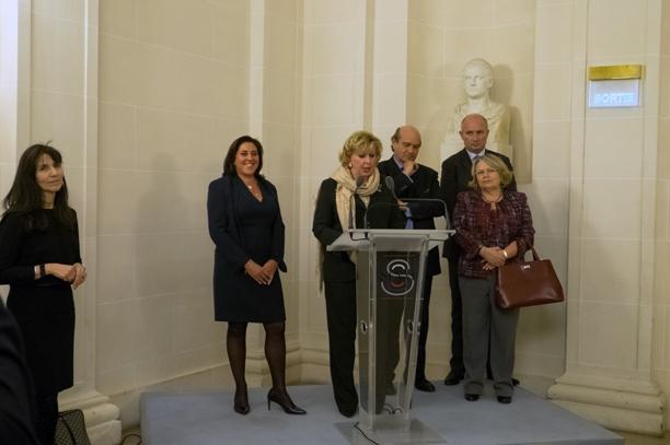 Astrid Desagneaux Chevalier dans l'Ordre National du Mérite