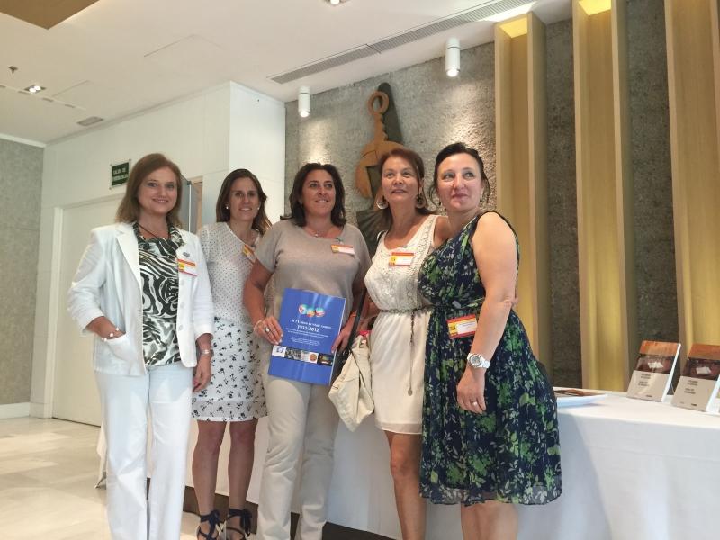 Rencontre avec les femmes Huissiers de Justice d'Espagne et de Lituanie