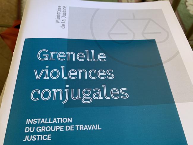 installation du groupe de travail justice dans le cadre du Grenelle violences conjugales